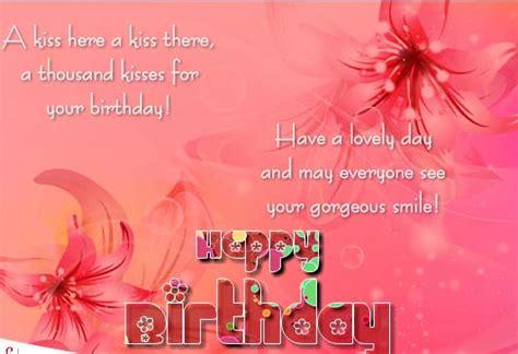 thousand kisses   birthday  happy birthday ecards