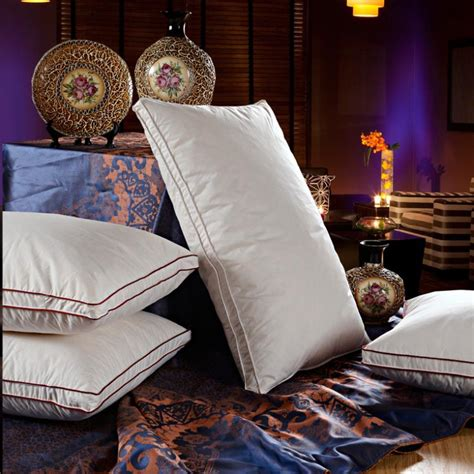 Five Hotel Pillows by Authentic Pillow White Goose Feather Pillows