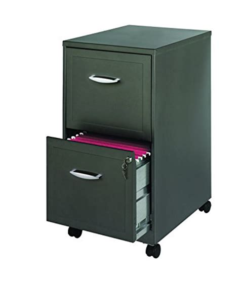 space solutions file cabinet space solutions mobile 2 file cabinet 18 inch deep
