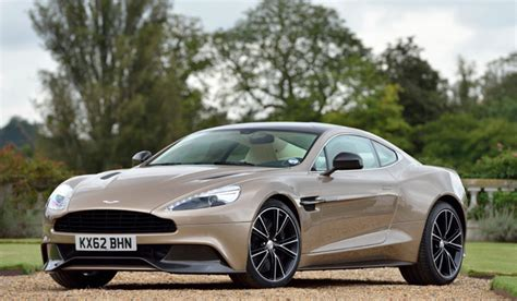 aston martin vanquish in photos 10 most expensive cars
