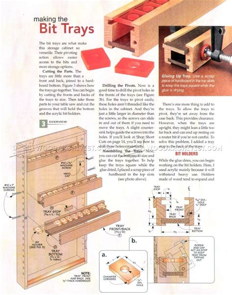wooden changing table plans