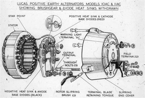 image gallery lucas alternator diagram