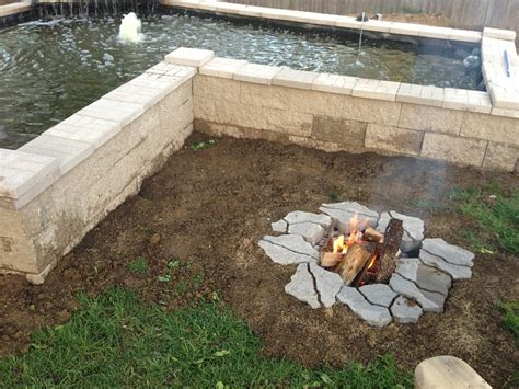 In Ground Fire Pit Designs A Creative Mom In Ground Firepit