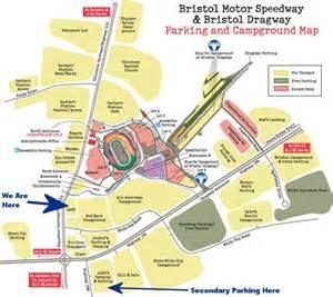 bristol motor speedway parking map my