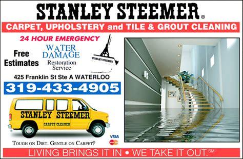 stanley steemer carpet cleaner waterloo ia 50703 3519