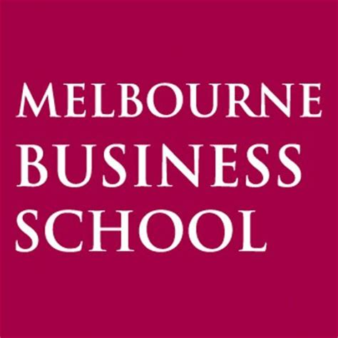 Of Melbournce Mba by Melb Business School