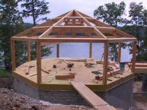 Octagon Cabin Plans octagon cabins building techniques cabin ideas frame structures