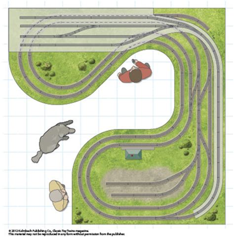 Bedroom Track Plans Dogbone In A Bedroom Classic Trains Magazine