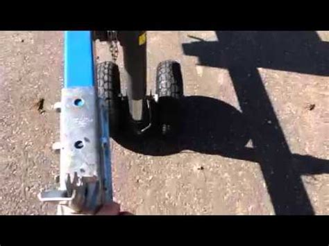 boat trailer jack with pneumatic tire successful design fabrication of a custom dual tire
