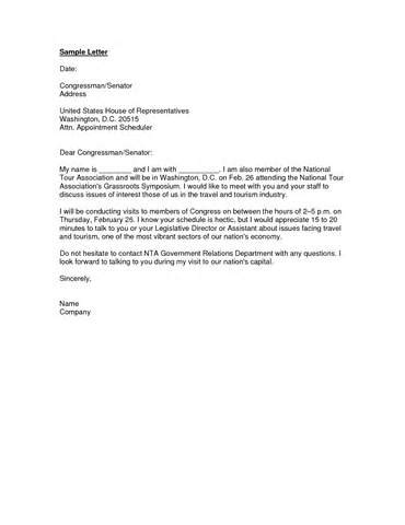 letter to congressman template letter to congressman format best template collection