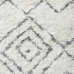 teppich 180x180 house doctor kuba tapis en blanc ivoire gris carre