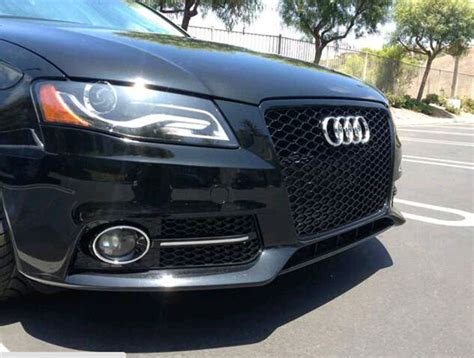 audi s5 fog light cover for sale audi rs style grilles for a4 s4 a5 s5 and fog
