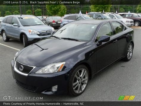 2008 lexus is 250 black black sapphire pearl 2008 lexus is 250 beige