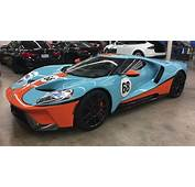 2017 Ford GT Adorned In Classic Gulf LiveryIs Pure Lust