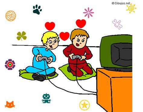 imagenes de niños jugando videojuegos animados dibujo de bred y nicky pintado por kathira en dibujos