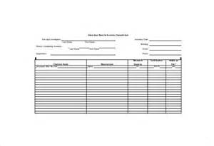hazardous substance register template inventory sheet template 12 free excel pdf documents