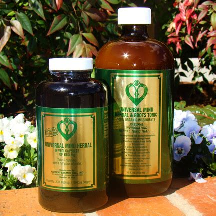 Essence Of Vitality Herbal Tonic Universal Mind Detox by Universal Mind Liquid The Herb Shop Of Vinings