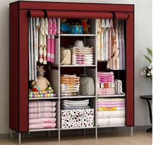 Cupboard For Clothes New Portable Bedroom Furniture Clothes Wardrobe Closet