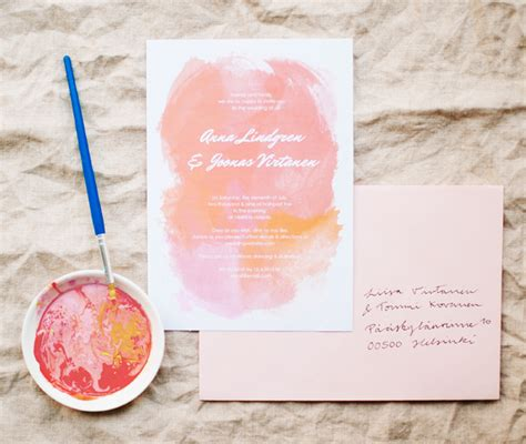diy free diy wedding invitations our favorite free templates