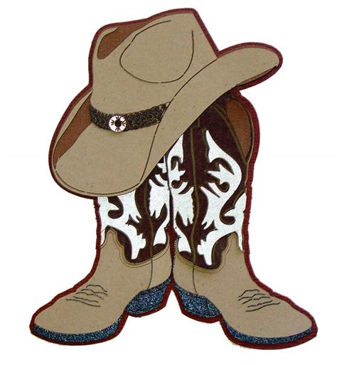 cowboy boot clipart boots and cowboy hat clipart