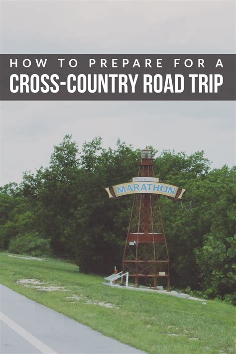 How To Prepare For A Cross Country Road Trip Hello Nature