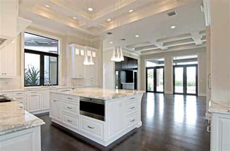 traditional kitchens with white cabinets 27 open concept kitchens pictures of designs layouts