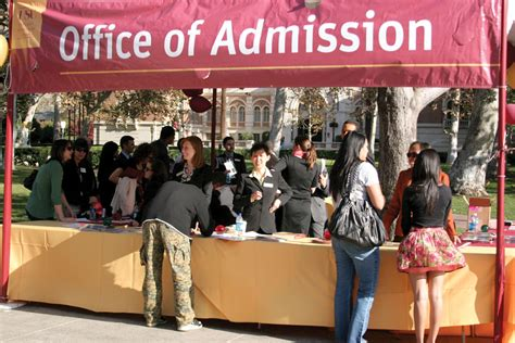 Office Of Admission by Competition For Merit Scholarships Increasing Daily Trojan