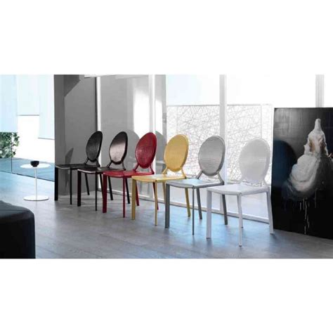 sedie tipo kartell sedia in cuoio rigenerato tipo kartell
