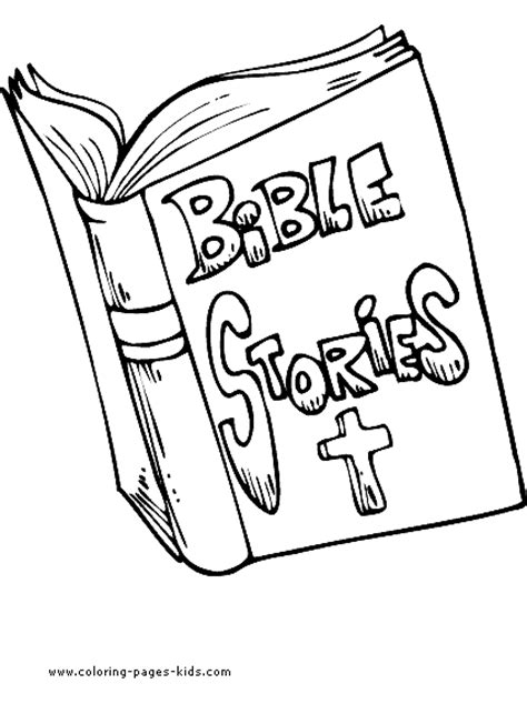 Free The Holy Bible Coloring Pages Holy Bible Coloring Page