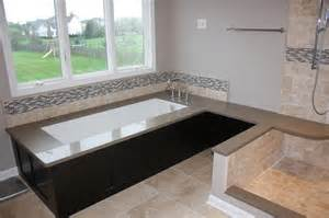 hillsbourough master bath w undermount tub