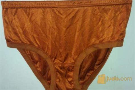 Celana Dalam Satinsilk celana dalam satin warna coklat muda light brown satin bekasi jualo
