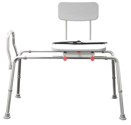 swivel sliding transfer bench extra long sliding transfer bench with swivel seat