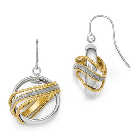 Compare Leslies Polished D C Fancy Dangle Earrings Miscellaneous prices and Buy online