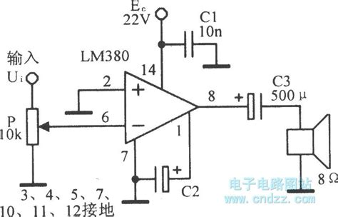 integrated circuit for lifier integrated audio power lifier circuit lm380 lifier circuits audio lifier circuit