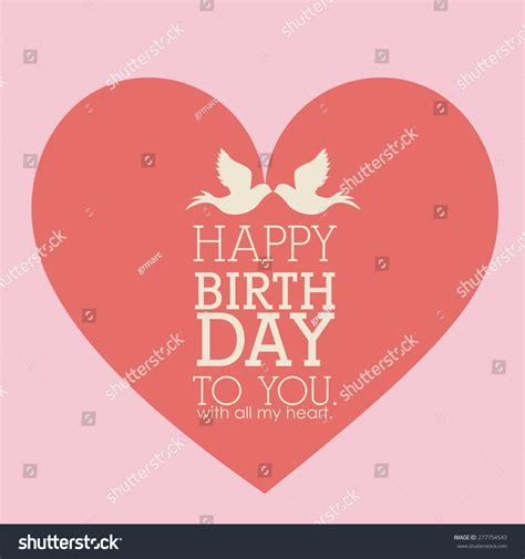 birthday pattern pink vector happy birthday design over pink background vector