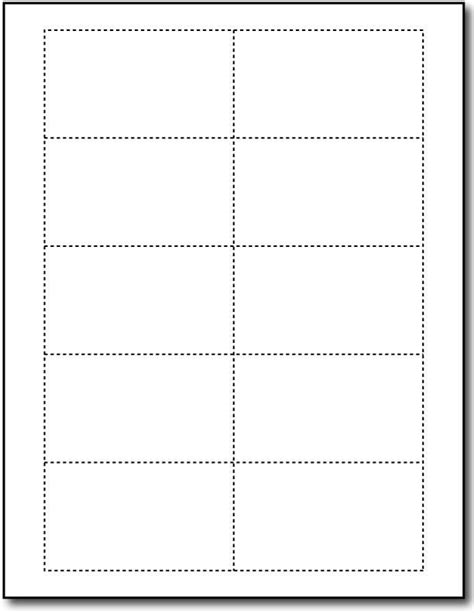Free Printable Templates Cards by Free Blank Business Card Templates To Print Template
