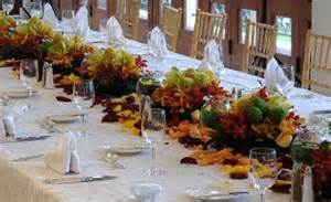 centerpieces for fall wedding receptions fall wedding reception centerpieces