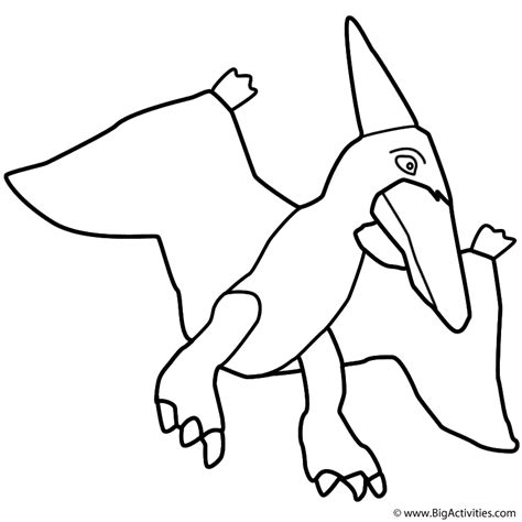 birthday dinosaur coloring page pterodactyl coloring page birthday