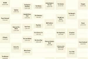 City Limits Dates City Limits 2013 Festival Schedule