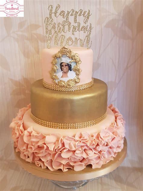 Ruffles Birthday cake   Sensational Cakes
