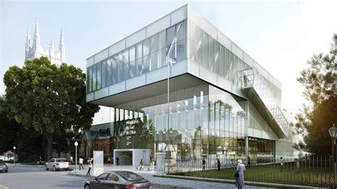 Pavillon Lassonde mnbaq museum by oma e architect