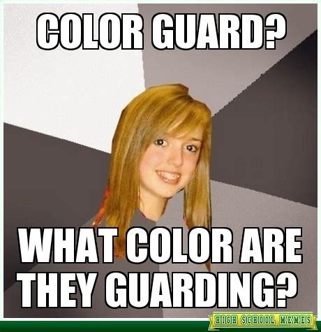 Color Guard Memes - pinterest the world s catalog of ideas