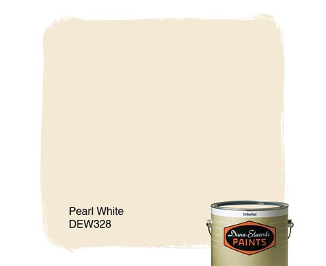 pearl white dew328 dunn edwards paints