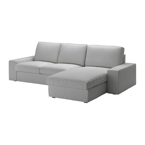 Loveseat With Chaise Lounge Kivik Loveseat And Chaise Lounge Orrsta Light Gray Ikea