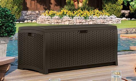 outdoor deck storage box groupon goods