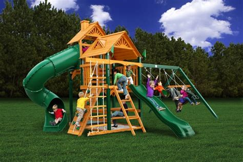 gorilla swing sets costco best gorilla playset swingset paradise free shipping