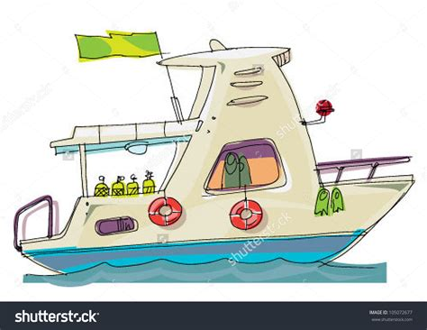 cartoon images of houseboat dive boat clipart clipground