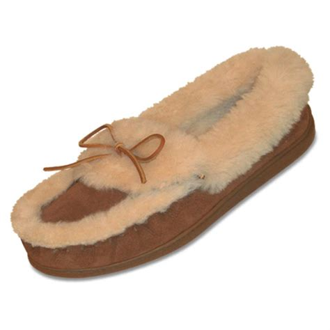moccasin slippers womens s minnetonka 174 moccasin the ultimate sheepskin