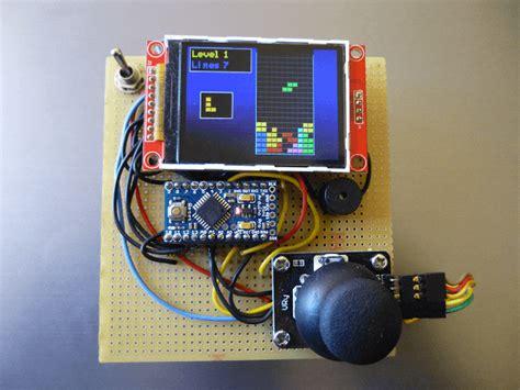 arduino console handheld arduino color console
