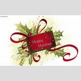 Happy holidays greetings with mistletoe | whatsapp99.com